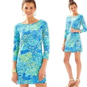 NWT Lilly Pulitzer Marlowe Dress in Lilly's Lagoon